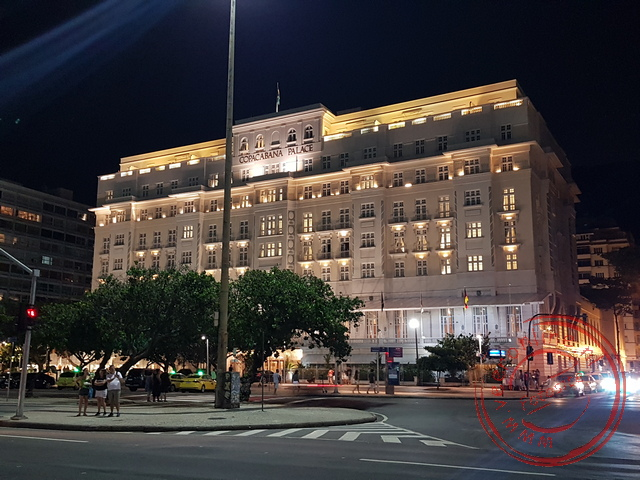Het luxe hotel Copacabana was de eerste bebouwing in deze wijk