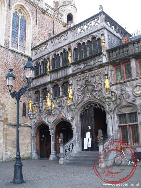 De heilige bloedbasaliek aan de Burg