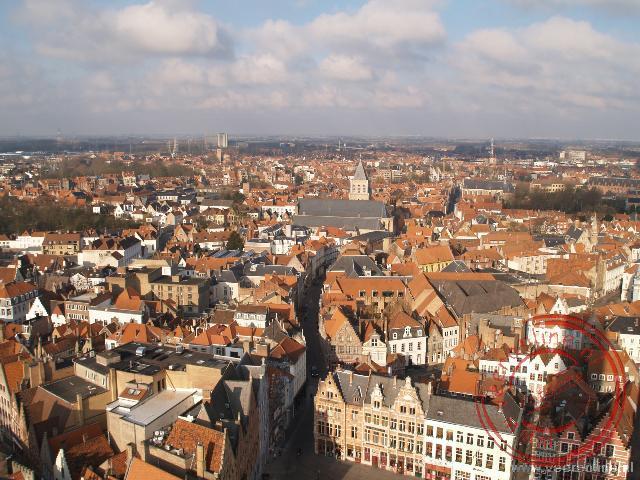 Uitzicht over historisch Brugge