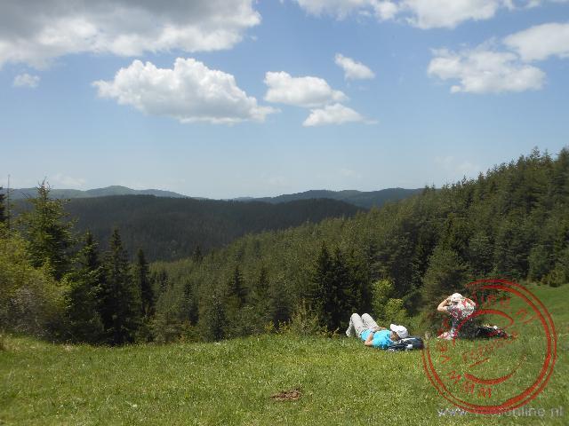 Een prachtige uitzicht vanaf de lunchlocatie