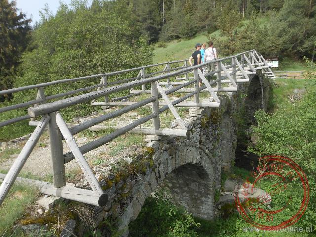 Een oude Romeinse brug is nog altijd in tact