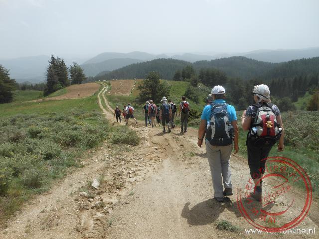 Heerlijk wandelen over het platteland van Bulgarije