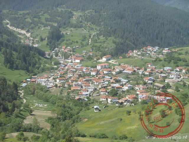 Het plaatsje Yagodina
