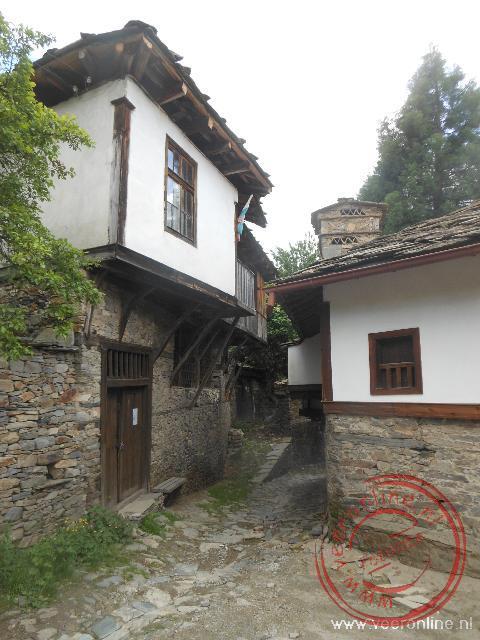 De smalle straatjes van Kovachevitsa