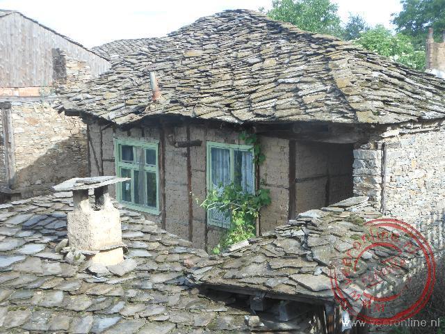 De traditionele huizen van Lashten