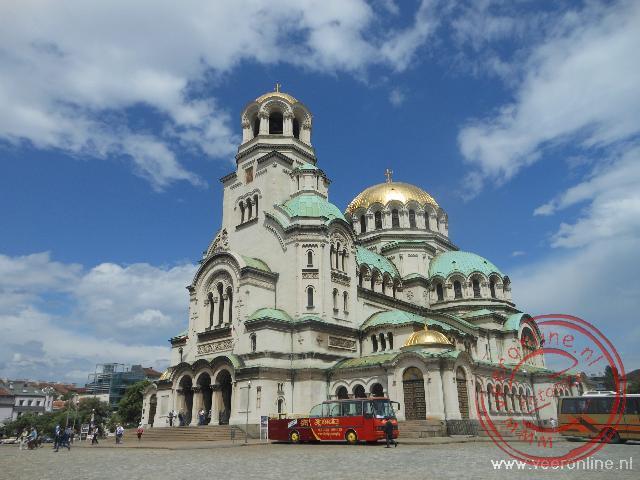 De Orthodoxe Aleksandür Nevskikerk in Sofia
