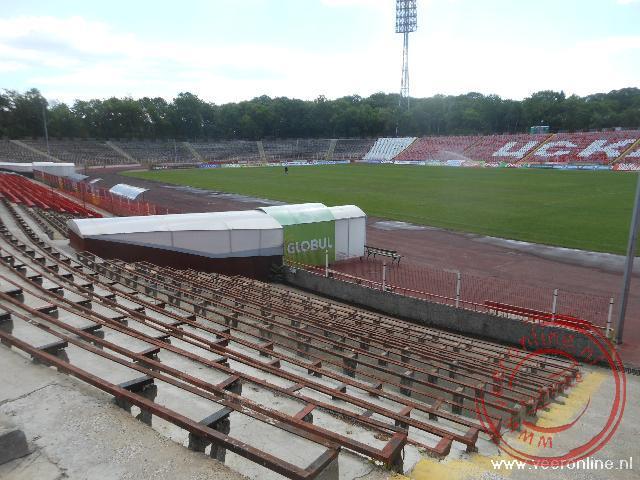 Het voetbalstadion van CSKA Sofia