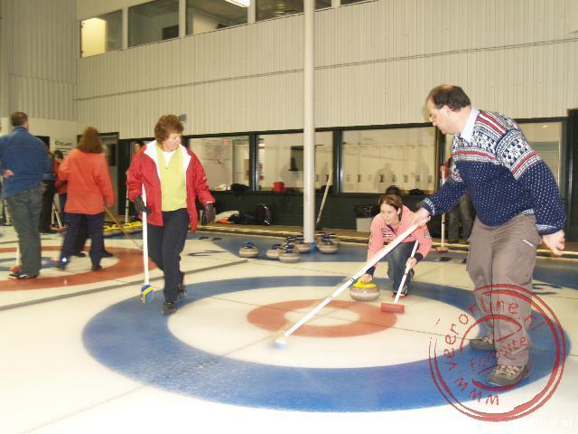De afzet is bij Curling belangrijk