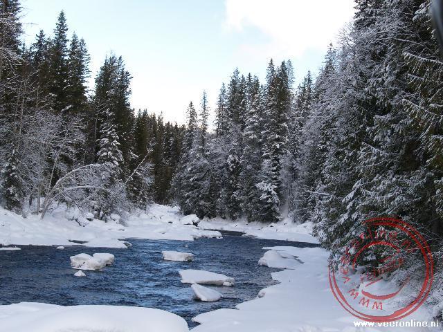 Een riviertje in het Wells Gray Provincial Park