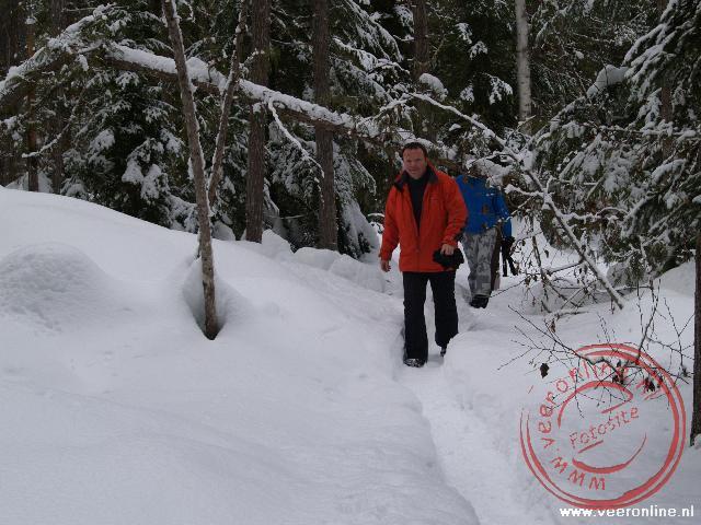 Lopen in de sneeuw