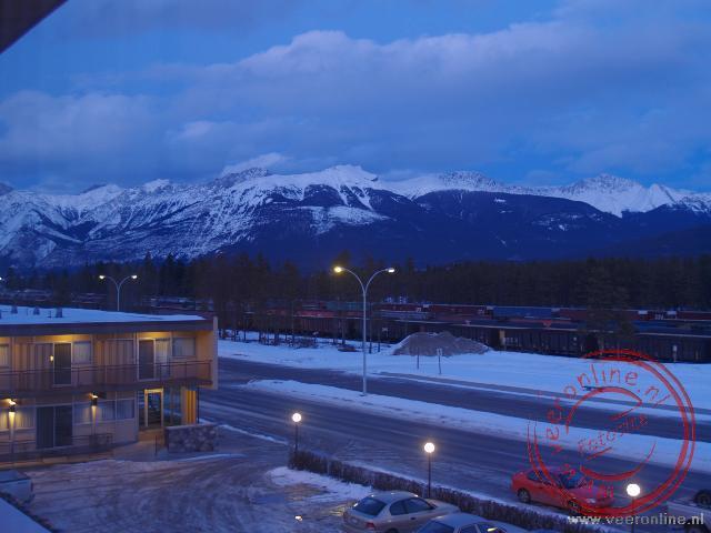 Het uitzicht uit het hotel