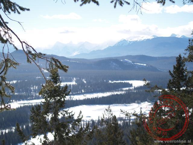Uitzicht over de vallei van Jasper