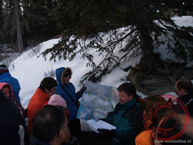 Uitleg over de icefield Parkway