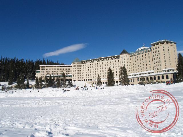 Het hotel bij Lake Louise