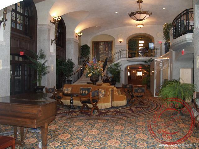 De luxe in het Banff Springs Hotel