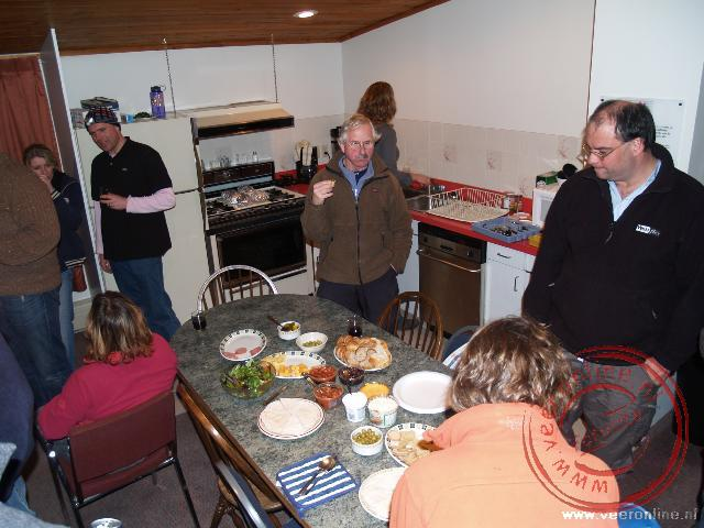 Barbecue avond in Canmore