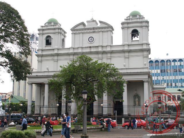 De Cathedral Metropolitana is de grootste kathedraal van San José en dateert uit 1871