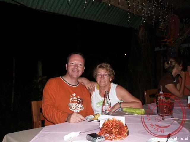 Een ontmoeting met Cees in Cahuita Costa Rica