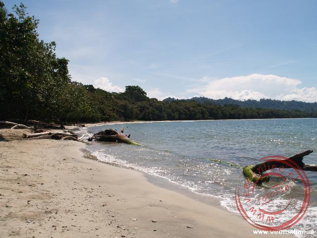 Het strand van Cahuita, Costa Rica