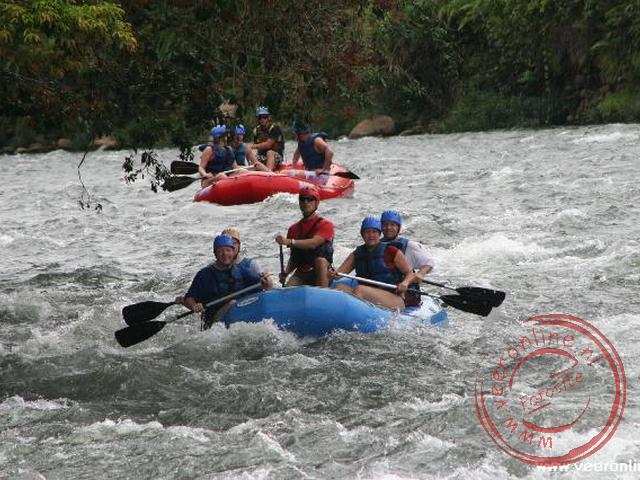 Raften op de Rio Sarapiqui
