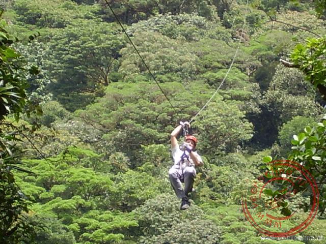 De canopy tour in Costa Rica