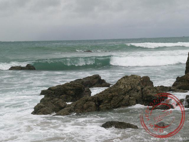 De Pacific kust van Costa Rica