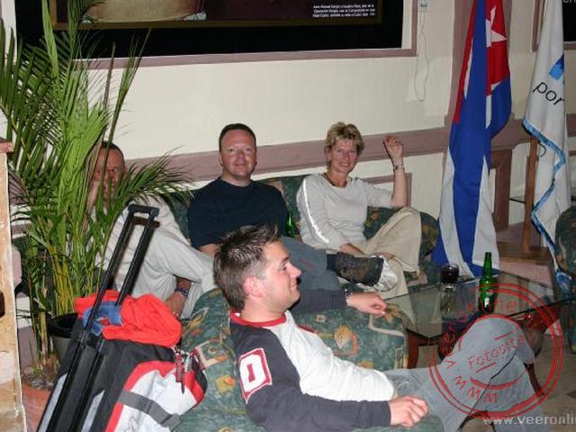 De eerste kennismaking met de reisgroep