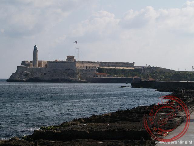 De verdedigingswerken van de stad het Castillo de los Tres Reyes del Morro