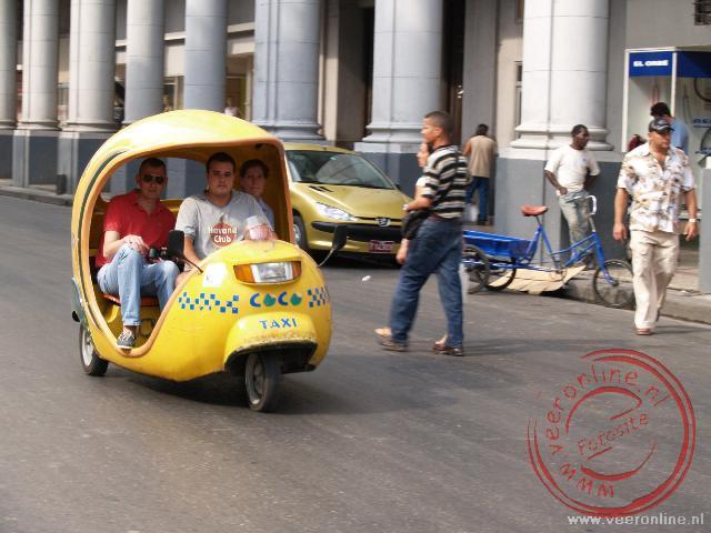 Een coco taxi