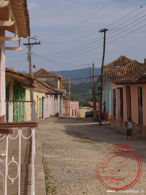 De straatjes in Trinidad