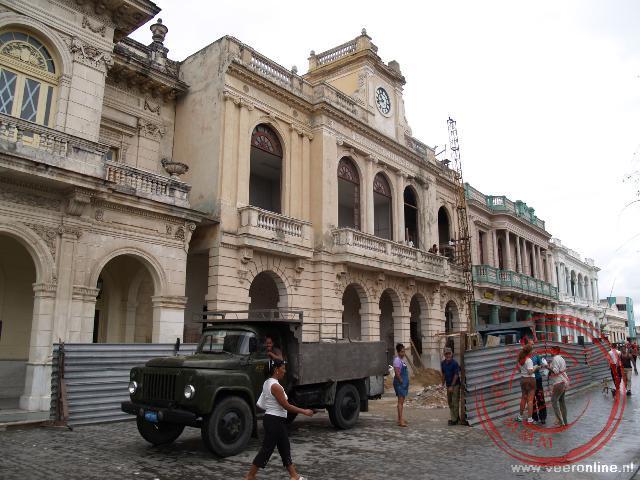 Het cenrale plein van Santa Clara, Parque Vidal