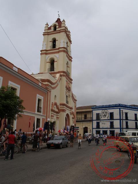 De Iglesia de la Merced met het nabijgelegen klooster aan het Plaza de los Trabadadores