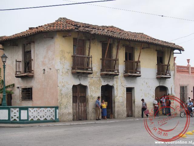 Het oudste huis in Camagüey nabij de Rio Hatibonico
