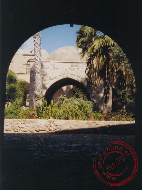 Het klooster in Ayia Napa