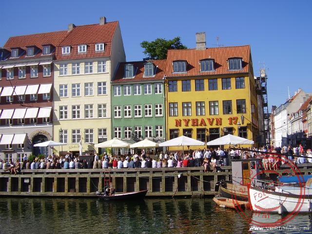 De oude koopmanshuizen aan de Nyhavn