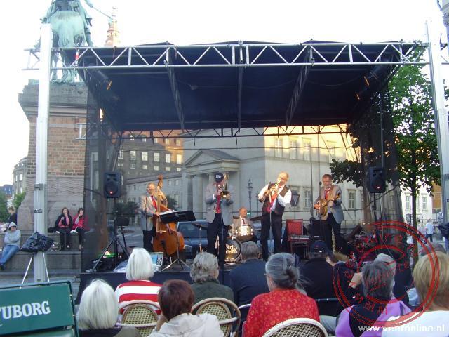 Optredens tijdens het Copenhagens jazz festival