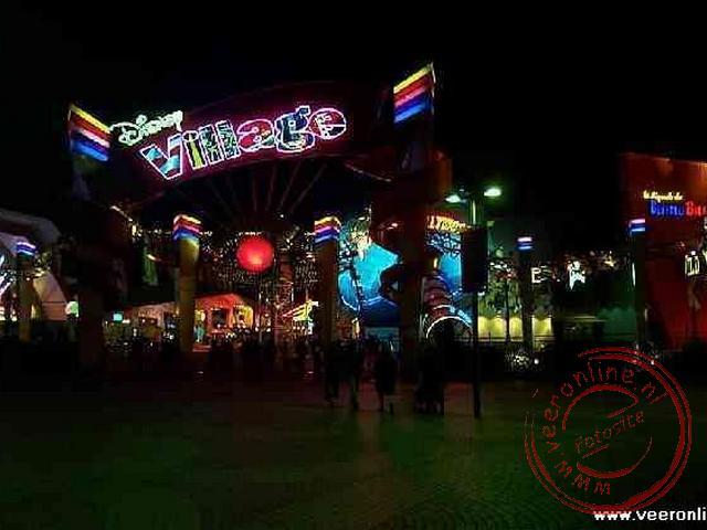 Disney Village, cafe s en restaurants voor de avond
