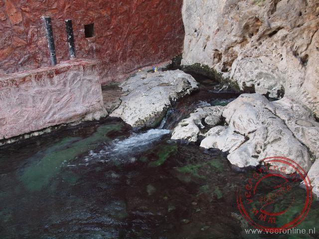 De warm water bron in Nakhal