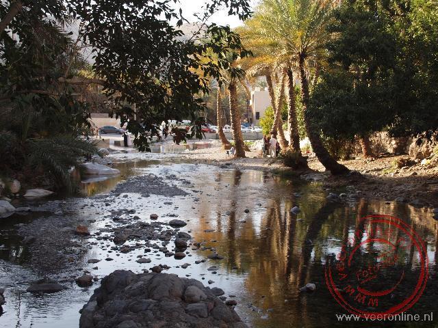 Het water uit de bron in Nakhal