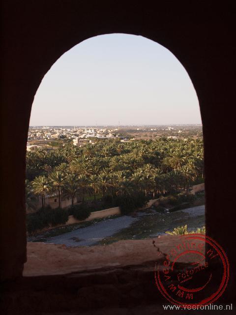 Een doorkijkje in het kasteel Nakhal