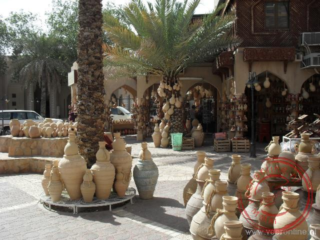 De potten Souq in Nizwa