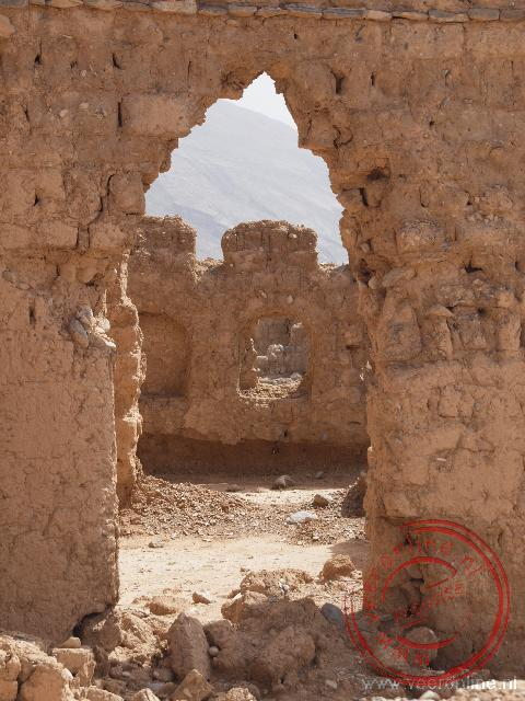 De verlaten en vervallen stad Tanuf