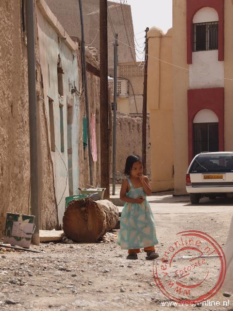 Een Omaans meisje in Bahla