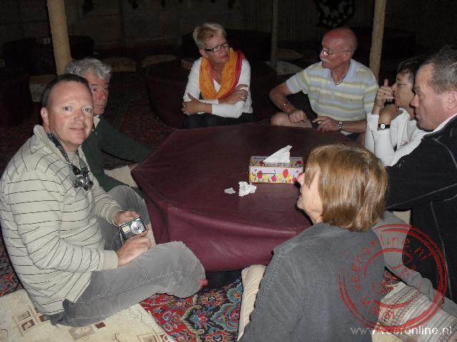 Het diner bij de Bedoeïnen