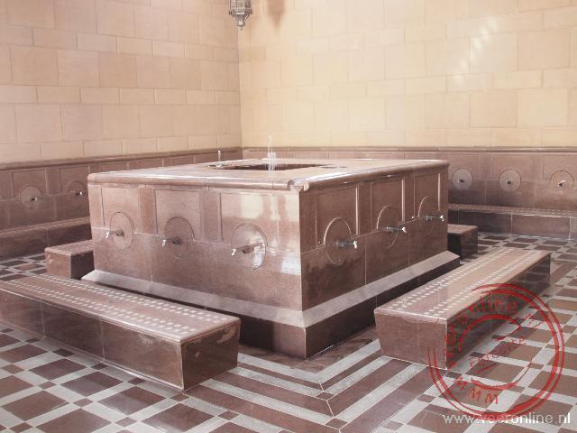 De wasplaats in de Sultan Qaboos Grand Moskee