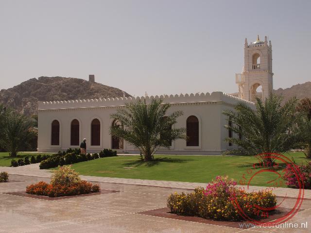 De muskee bij het Paleis van de Sultan in oud Muscat