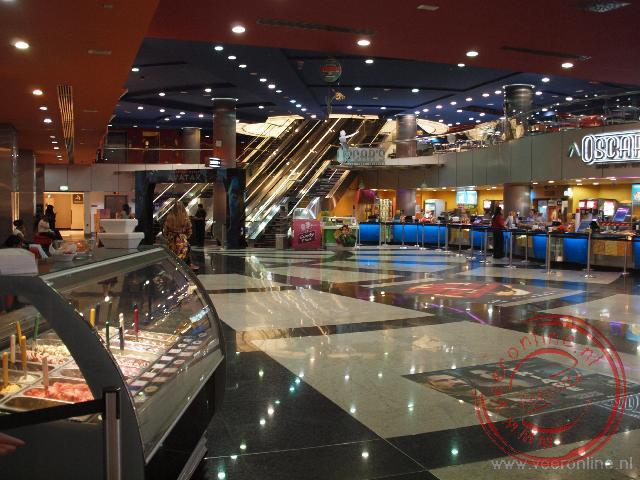 Dubai en Oman - De cinema in de shoppingmall of the Emirates
