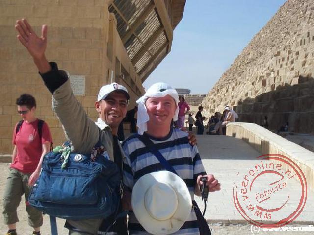 De eerste oplichter, Welcome my friends, welcome in Egypt