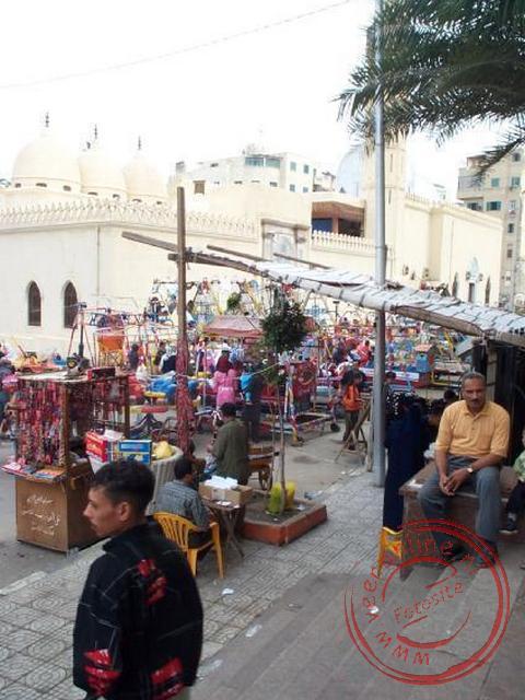 De markt van Alexandrië