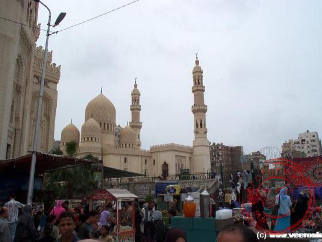 De Abu Abbas Moskee in Alexandrië